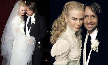 Σε… γαμήλια έκθεση μόδας το νυφικό της Kidman