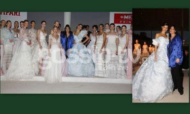 Η Isabeli Fontana στην φιλανθρωπική επίδειξη μόδας της Κριθαριώτη