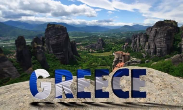 Νιώθει ευλογημένος στην τοποθεσία Ελλάδα