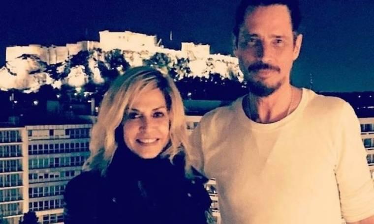Η Άννα Βίσση αποχαιρέτησε τον κουμπάρο της, Chris Cornell
