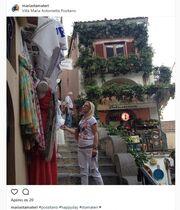 Η Μαρία Σταματέρη στην Ιταλία