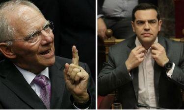 «Χαστούκι» Σόιμπλε στον Τσίπρα: Καμία ελάφρυνση του ελληνικού χρέους