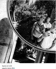 Η μεσημεριανή βόλτα του Άγγελου Λάτσιου και η selfie στο instagram