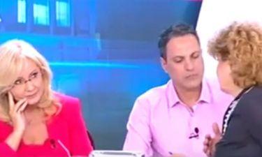 «Πάγωσε» η Νικολούλη όταν έμαθε on air ότι είναι νεκρός ο γιος της καλεσμένης της