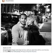 Το «τρυφερό» μήνυμα της Αλούπη στον σύντροφό της για τη γιορτή του