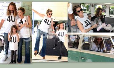 Κατερίνα Λάσπα: H έξοδος από το μαιευτήριο, τα μπλουζάκια, το βανάκι και τα ψηλοτάκουνα
