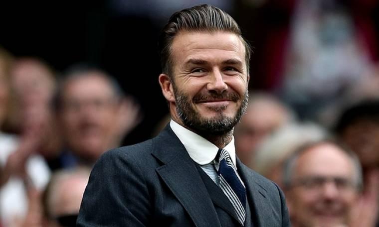 Και ψαράς ο David Beckham