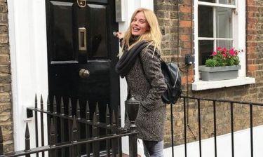 Ζέτα Μακρυπούλια: Το ταξίδι της στο Λονδίνο και η φωτογραφία του Jude Law