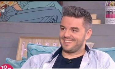 Πέτρος Πολυχρονίδης: Πήγε στο Πρωινό με την σύντροφό του