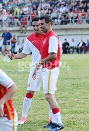 Καραγκούνης-Φαλκάο παίξανε μπάλα μαζί στο Νυδρί