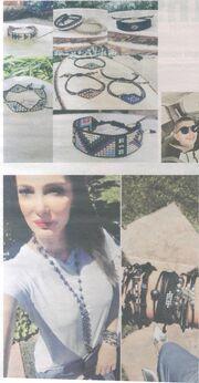 Η Αλέκα Καμηλά σχεδιάζει κοσμήματα και μας τα παρουσιάζει!