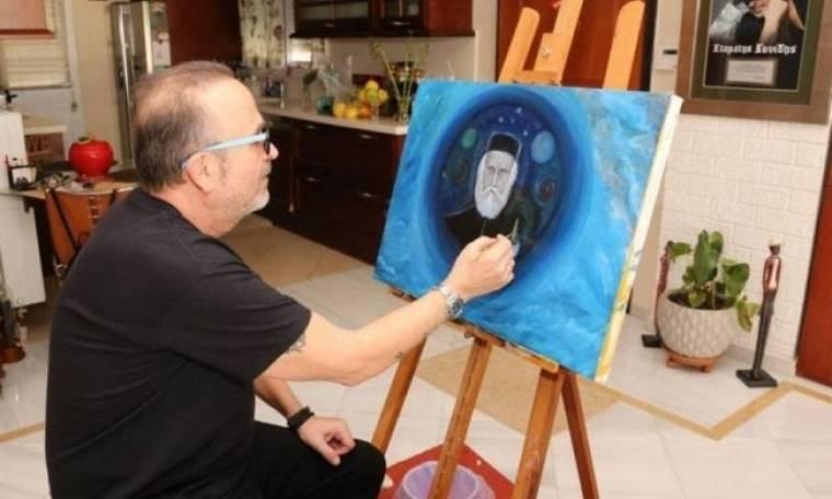 Σταμάτης Γονίδης: Ετοιμάζει την πρώτη ατομική του έκθεση ζωγραφικής!