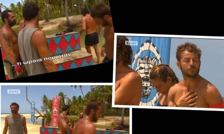 Survivor: Τα κομμένα πλάνα του Ντάνου τα «μπίπ» και η απομάκρυνση από την παραλία (Nassos blog)