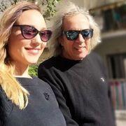 Η selfie της Πηνελόπης Αναστασοπούλου με τον πατέρα της