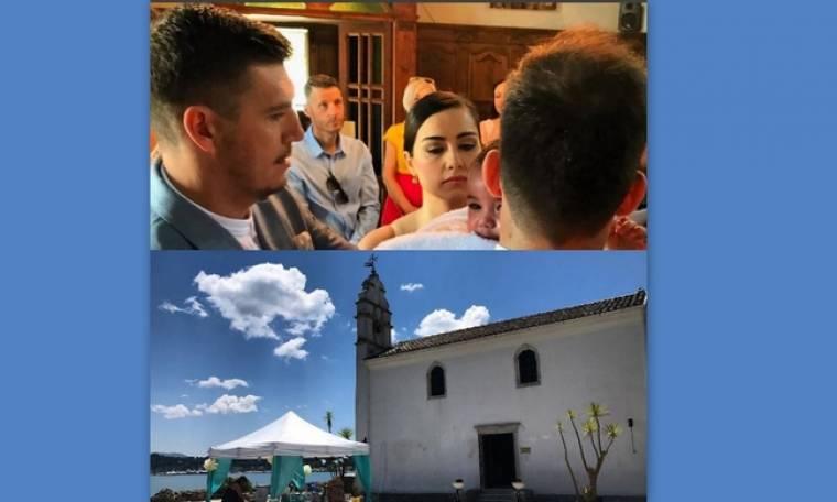 Σπύρος Γιαννιώτης: Βάφτισε τον γιο του στην Κέρκυρα ο Ολυμπιονίκης