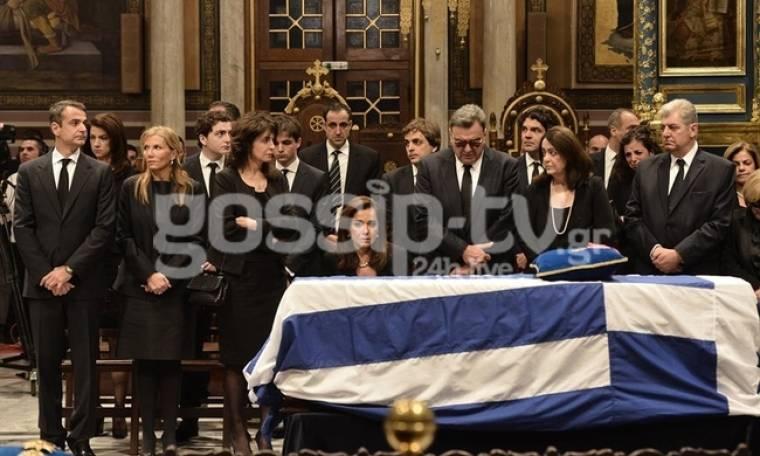 Το τελευταίο αντίο στον Κωνσταντίνο Μητσοτάκη