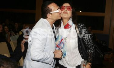 Το τρυφερό φιλί του Πανταζή στην Δημητρίου