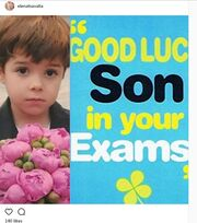Έλενα Τσαβαλιά: Το τρυφερό μήνυμα στον γιο της, που δίνει εξετάσεις (φωτό)!