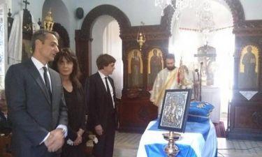 Το «ύστατο χαίρε» στον Κωνσταντίνο Μητσοτάκη