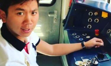 Απίστευτο! Ο Ορέστης Τσανγκ… οδηγός στο ηλεκτρικό τρένο