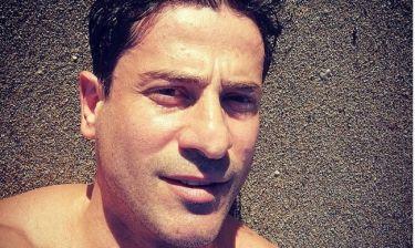 Αλέξης Γεωργούλης: Απολαμβάνει τις βουτιές του στην Κέρκυρα