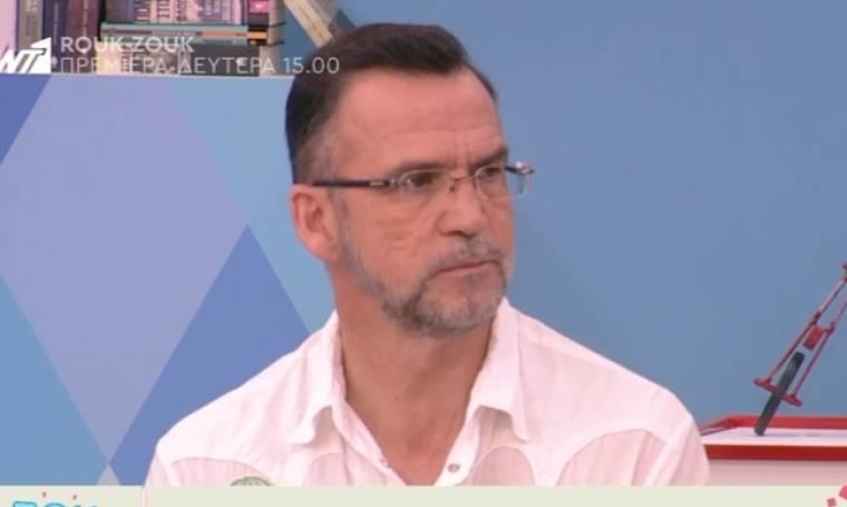 Πάνος Μεταξόπουλος: «Αυτή η φάση είναι δύσκολη για μένα»