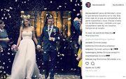 Ποδοσφαιριστής παντρεύτηκε και το ανακοίνωσε στο Instagram