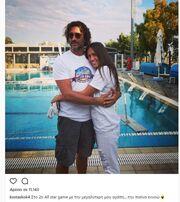 Survivor: Ο Κοκκινάκης ποζάρει αγκαλιά με την κόρη του μετά την αποχώρησή του από το ριάλιτι