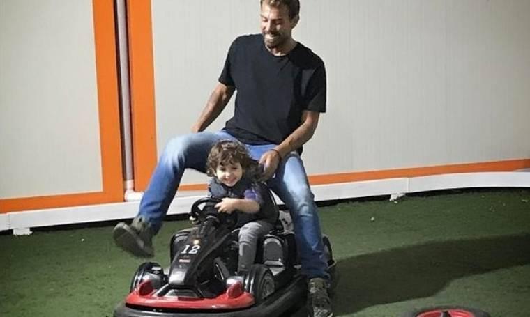 Η φωτό του Χανταμπάκη με τον γιο του και το μήνυμά του στο instagram!