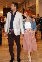 Χέρι χέρι με τον σύντροφό της η Ελεονώρα Ζουγανέλη