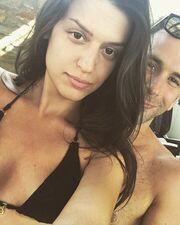 Φρόσω Κυριάκου: Μπάνιο με τον σύντροφό της