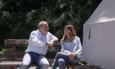 «Του νερού τα παραμύθια» της ΕΡΤ3 πήγανε στην Κρήτη με τον Δημήτρη Καμπουράκη