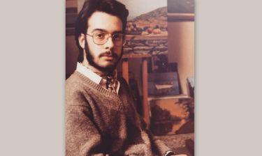 Χίπστερ των 80s ο Σεργουλόπουλος
