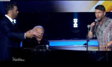 X Factor: Θεοφάνους – Χατζηνάσιος στη σκηνή με τον Γιώργο Μαζωνάκη