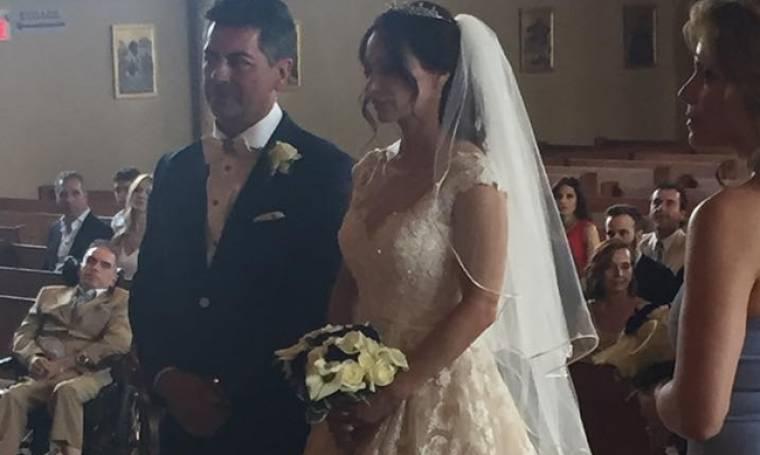 Μάρω Λύτρα: Το φωτογραφικό άλμπουμ από τον γάμο της