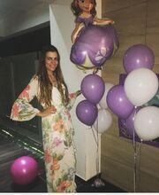 Γενέθλια για την κορούλα της Νάντιας Καρβέλη
