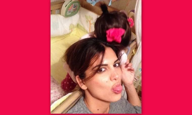 Σταματίνα Τσιμτσιλή: Η φωτογραφία με την μικρή της κόρη και το τρυφερό μήνυμα για τα γενέθλιά της