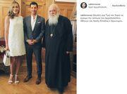 Ζυγούλη-Ρουβάς: Με την ευλογία του Αρχιεπισκόπου Ιερώνυμου ο γάμος τους