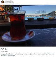 Τσάι με θέα τον Βόσπορο για τον…
