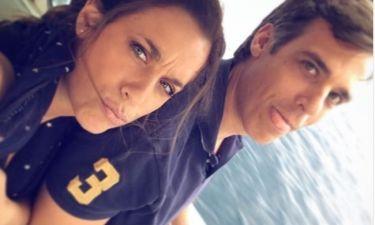 Εύα Αντωνοπούλου: «Απόδραση» με τον σύζυγό της για το Σαββατοκύριακο