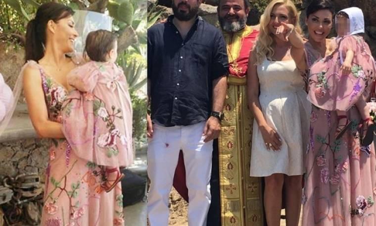Λαμπερή βάπτιση στη Μύκονο για την κόρη των Φειδά – Ανδρίτσου (φωτο)