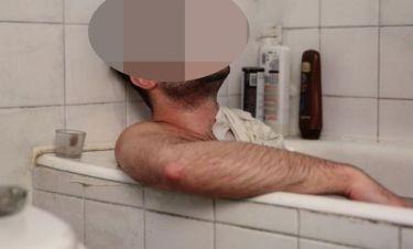 Έλληνας ηθοποιός ποζάρει γυμνός μέσα στην μπανιέρα του