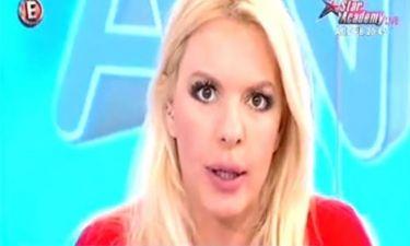 Έξαλλη η Αννίτα Πάνια: «Είστε προκλητικότατος! Είστε γελοίος!»