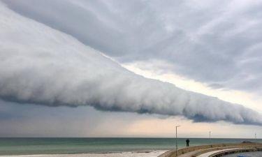 Το σύννεφο της «Αποκάλυψης» έκανε την εμφάνισή του στη νότια Σουηδία