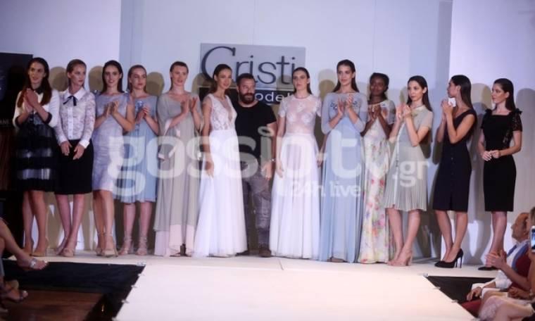 Επίδειξη μόδας για την σχολή Cristi Models