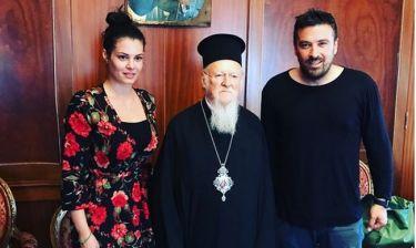 Κορινθίου-Αϊβάζης: Η συνάντησή τους με τον Πατριάρχη