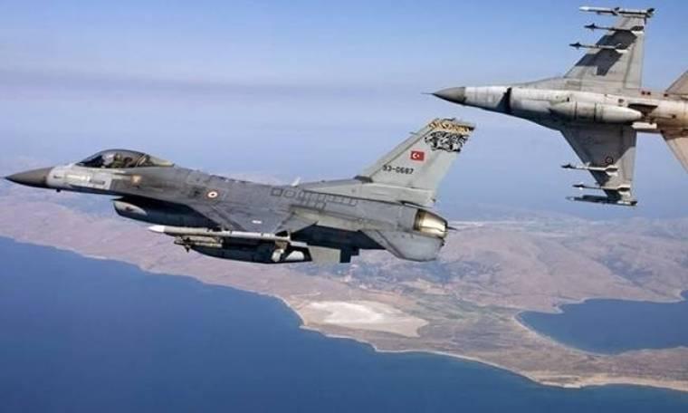 Συναγερμός στο Αιγαίο: Τουρκικά μαχητικά πάνω από τους Φούρνους