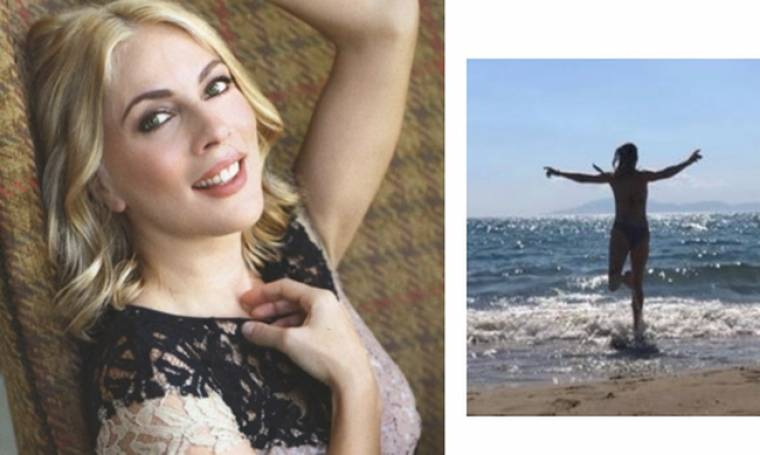Αντέχετε; Δείτε την Σμαράγδα Καρύδη στην παραλία με μαγιό χωρίς ρετούς (Nassos blog)