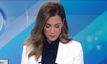 Εύα Αντωνοπούλου: Έβαλε τα κλάματα στην αποφώνηση του δελτίου ειδήσεων!