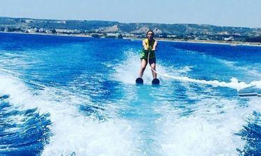 Αλεξάνδρα Πασχαλίδου: Διακοπές στην Κω με την κόρη της! (φωτό + βίντεο)